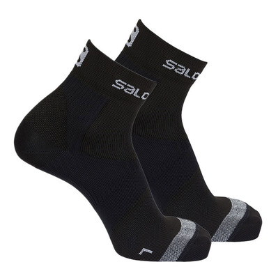 SALOMON - Socks - Men's - SENSE SUPPORT black/grey