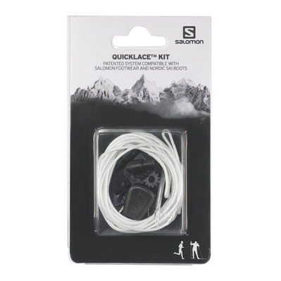 SALOMON - QUICKLACE - Cordones natural