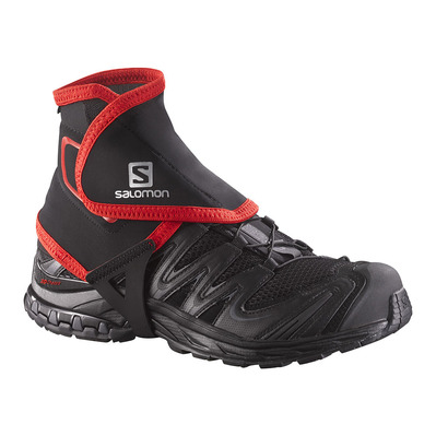 SALOMON - TRAIL HIGH - Gaiters - black