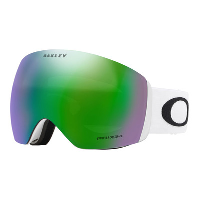OAKLEY - FLIGHT DECK - Ski Goggles - matt white/prizm jade iridium