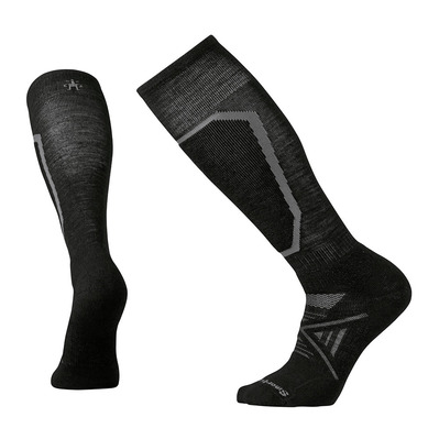 SMARTWOOL - PHD MEDIUM - Skisocken black