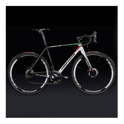 Bicicleta de ciclocross LAMBEEK red/white/green