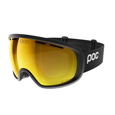 POC - FOVEA MID CLARITY - Masque ski uranium black/spektris orange