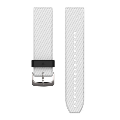 GARMIN - QUICKFIT - Silicone Strap 22mm - white