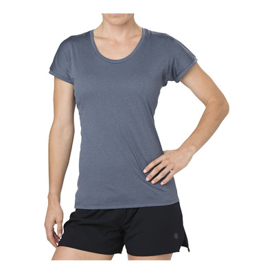 ASICS - CAPSLEEVE - Jersey - Women's - dark blue heather