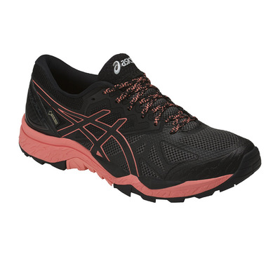 ASICS - GEL-FUJITRABUCO 6 GTX - Trail Shoes - Women's - black/begonia pink