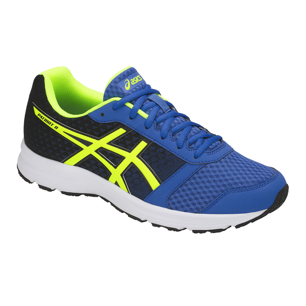 Asics PATRIOT 9 Scarpe da running Uomo victoria bluesafety yellowblack su Private Sport Shop