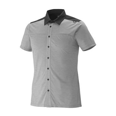 MILLET - Camiseta hombre CLOUD PEAK WOOL smoked pearl