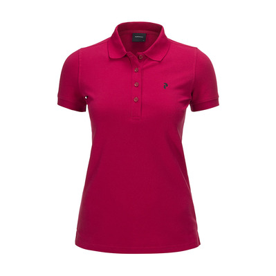 PEAK PERFORMANCE - GOLF - Polo Femme true pink