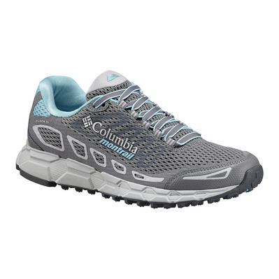 COLUMBIA - BAJADA III - Chaussures trail Femme grey steel/coastal blue