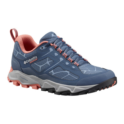 COLUMBIA - TRANS ALPS II - Chaussures trail Femme steel/melonade