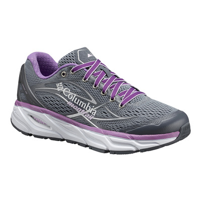 COLUMBIA - VARIANT X.S.R. - Laufschuhe Frauen grey ash/phantom purple