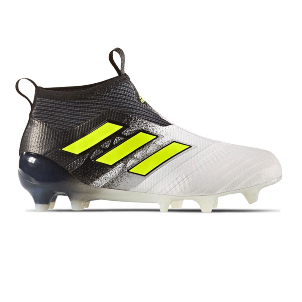 Chaussures Adidas ACE 17+ PURECONTROL FG Enfant BlancNoir