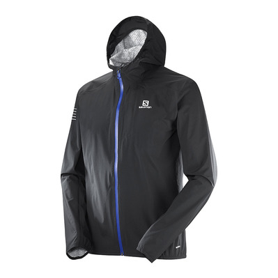 SALOMON - Jacket - Men's - BONATTI WP black