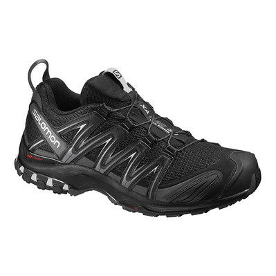 SALOMON - Trail Shoes - Men's - XA PRO 3D black/magnet/quiet shade
