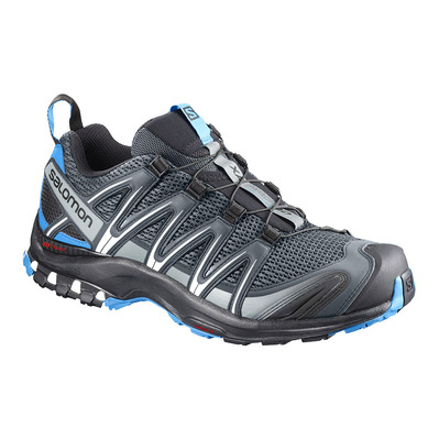 SALOMON - XA PRO 3D - Chaussures trail Homme stormy weather/black/hawaiian