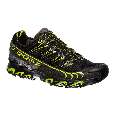 LA SPORTIVA - ULTRA RAPTOR - Trailrunningschuhe Männer black/apple green