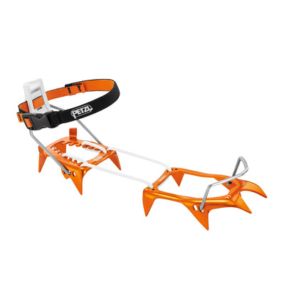 PETZL - LEOPARD LLF - Crampons orange