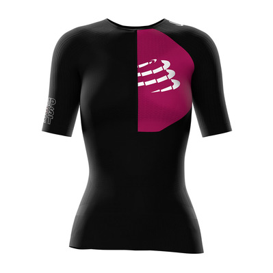 COMPRESSPORT - TRIATHLON POSTURAL AERO - Jersey - Women's - black