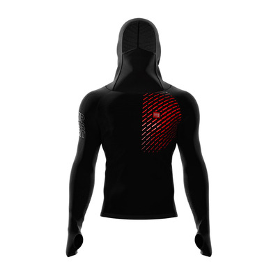 COMPRESSPORT - 3D THERMO ULTRALIGHT RACING - Sweatshirt - Men's - black