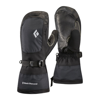 BLACK DIAMOND - MERCURY - Mittens - black