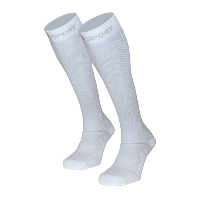 BV SPORT - RECOVERY EVO - Chaussettes blanc