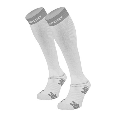 BV SPORT - XLR EVO - Socks - white/grey