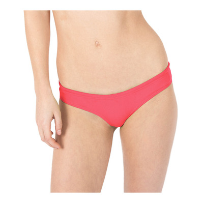 ARENA - UNIQUE BRIEF - Braguita de bikini mujer fluo red/yellow star