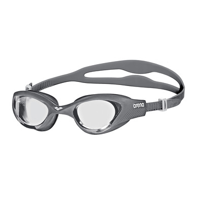 ARENA - THE ONE - Swimming Goggles - clear grey/white