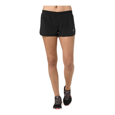ASICS - SILVER 4IN - Short Femme performance black
