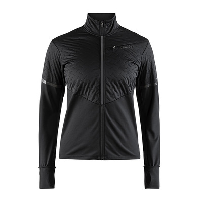 CRAFT - Chaqueta mujer WIND URBAN RUN negro