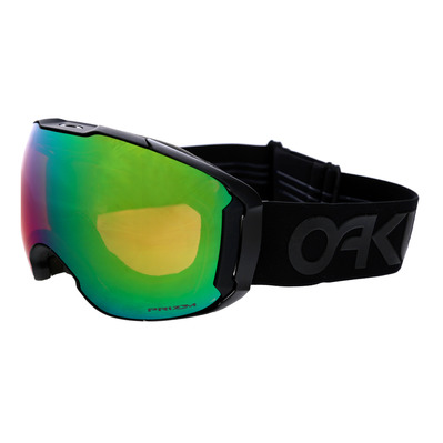 OAKLEY - AIRBRAKE XL - Masque ski factory pilot blackout/prizm jade iridium + prizm rose