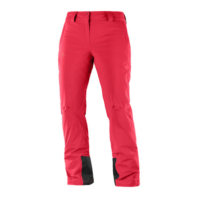SALOMON - ICEMANIA - Ski Pants - Women's - hibiscus