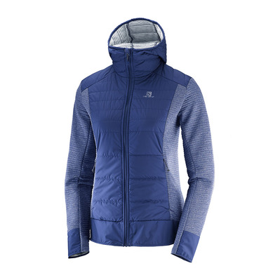 SALOMON - RIGHT NICE - Hybrid Jacket - Women's - medieval blue