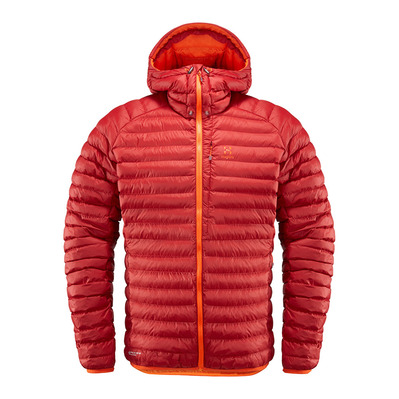 HAGLOFS - ESSENS MIMIC - Down Jacket - Men's - rubin/cayenne