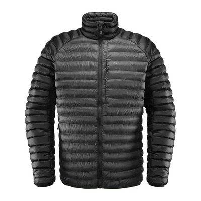 HAGLOFS - ESSENS MIMIC - Doudoune Homme magnetite/true black