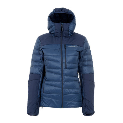 NORRONA - Jacket - Women's - FALKETIND DOWN indigo night