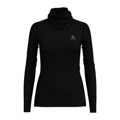 ODLO - NATURAL MERINO WARM - Base Layer - Women's - black/black