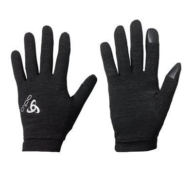 ODLO - Gloves - NATURAL + WARM black