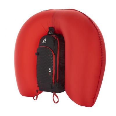 Arva REACTOR V2 18L Sac à dos airbag noirrouge