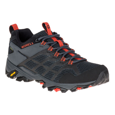 MERRELL - MOAB FST 2 GTX - Hiking Shoes - Men's - black granite