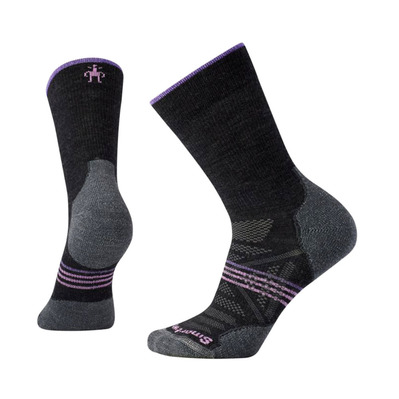 SMARTWOOL - PHD OUTDOOR LIGHT CREW - Chaussettes Femme charcoal