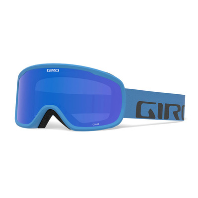 GIRO - CRUZ - Schneebrille blue wordmark/grey colbalt