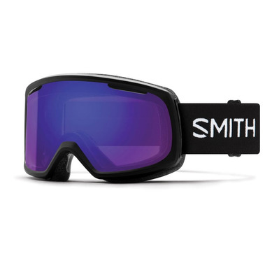 SMITH - RIOT - Masque ski Femme black/chromapop everyday violet mirror
