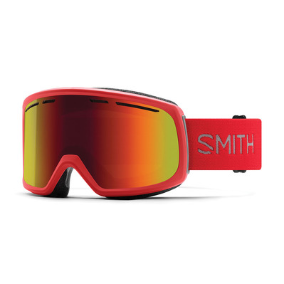 SMITH - RANGE - Ski Goggles - Men's - rise/red sol x mirror