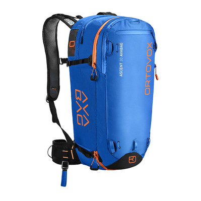 ORTOVOX - Airbagrucksack ASCENT 30 l safety blue + AVABAG-UNIT
