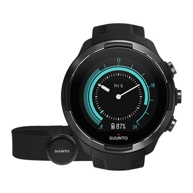 SUUNTO - 9 BARO - Watch black + heart rate belt