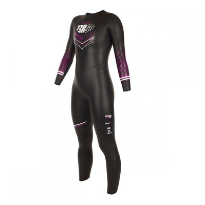 Z3ROD - Z3r0d ATLANTE - Traje de neopreno 2/3/5mm mujer black/fuschia