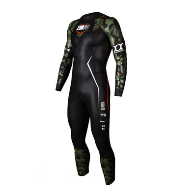 Z3ROD - PROFLEX - Tuta triathlon Uomo 5/3/1.5/0.5mm camo