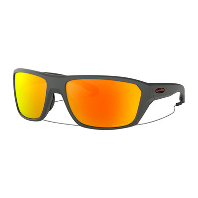 OAKLEY - SPLIT SHOT - Occhiali da sole polarizzati matte heather grey/prizm ruby